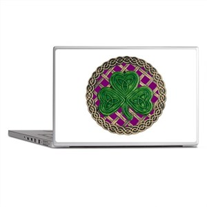 Shamrock And Celtic Knots Laptop Skins