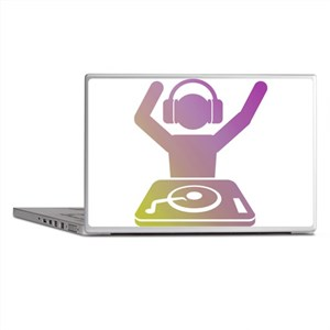 Colorful DJ Laptop Skins