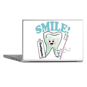 Dentist Dental Hygienist Teeth Laptop Skins