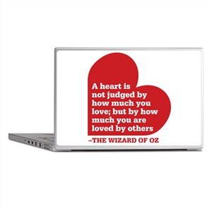 Wizard of Oz - Heart Judged Laptop Skins