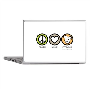 Peace, Love, Pits Laptop Skins