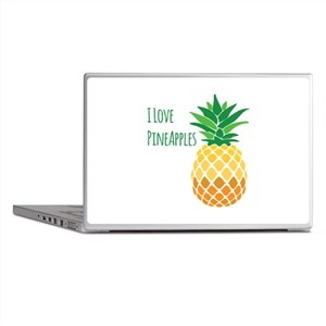 Love Pineapples Laptop Skins