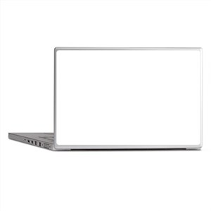 Black and White Chic Laptop Skins