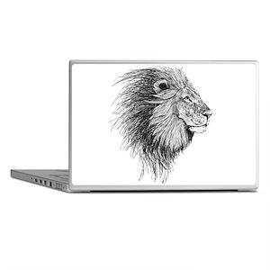 Lion (Black and White) Laptop Skins