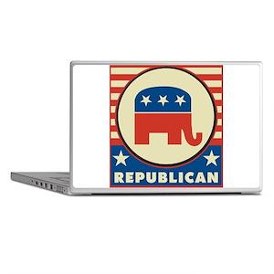 Retro Republican Laptop Skins