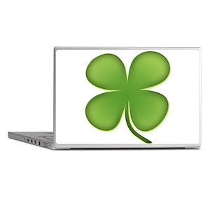 Lucky Irish Four Leaf Clover Laptop Skins