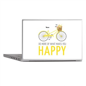 Makes You Happy Laptop Skins