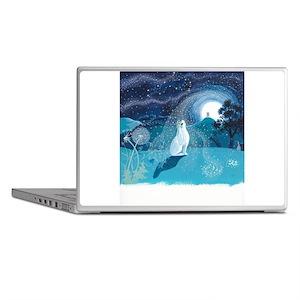 Moon Gazing Hare Laptop Skins