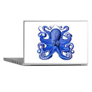 Blue Octopus Laptop Skins
