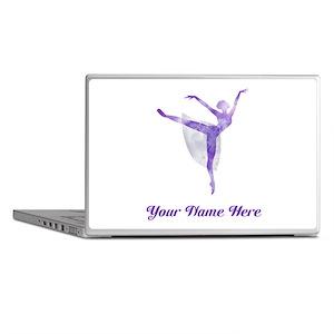 Personalized Ballet Laptop Skins