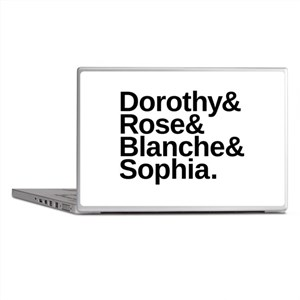 Golden Girls Name List Laptop Skins