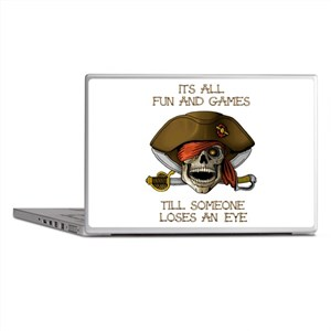 All Fun and Games Laptop Skins