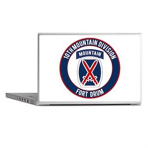 10th Mountain Ft Drum Laptop Skins