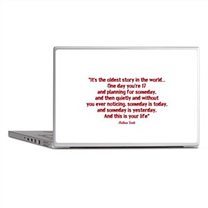 Nathan Quote (Tree Hill) Laptop Skins