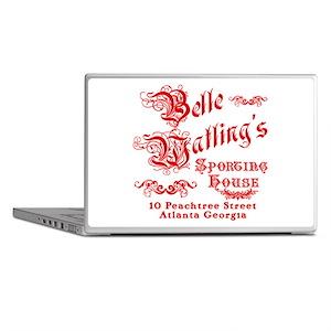 Belle Watling Sporting House Laptop Skins