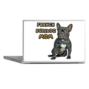 French Bulldog Mom Laptop Skins