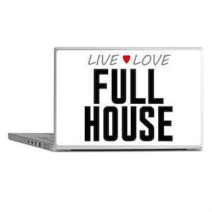 Live Love Full House Laptop Skins
