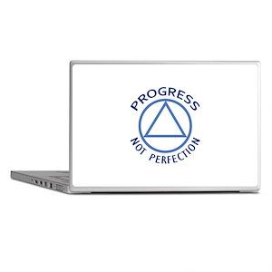 PROGRESS NOT PERFECTION Laptop Skins