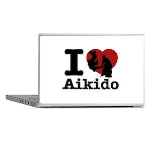 Aikido Heart Designs Laptop Skins