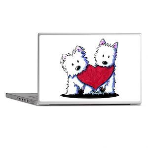 Heartfelt Westies Laptop Skins