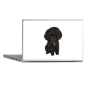 Poodle pup (blk) Laptop Skins