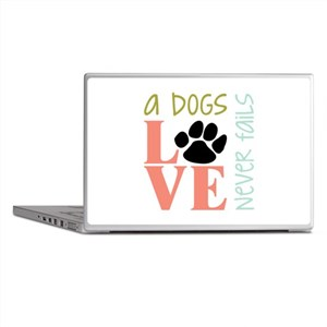 A Dogs Love Laptop Skins
