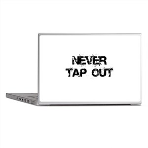 Never Tap out Laptop Skins