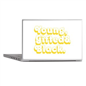 Young, Gifted & Black. Laptop Skins
