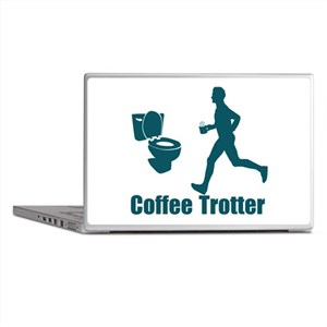 Coffee Trotter Laptop Skins