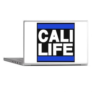 cali life blue Laptop Skins