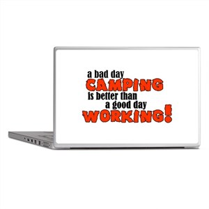 Bad Day Camping Laptop Skins