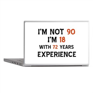 90 year old designs Laptop Skins