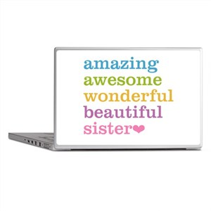 Amazing Sister Laptop Skins