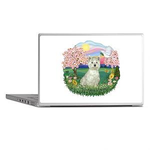 Blossoms-Westie#8 Laptop Skins