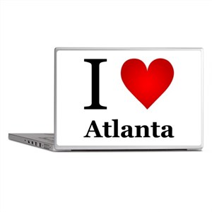 I Love Atlanta Laptop Skins