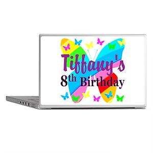 HAPPY 8TH Laptop Skins