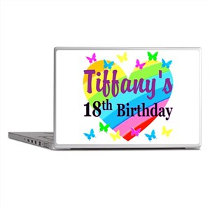PERSONALIZED 18TH Laptop Skins
