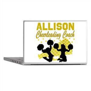 CHEERING COACH Laptop Skins