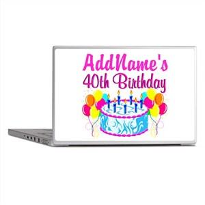 40TH PARTY Laptop Skins