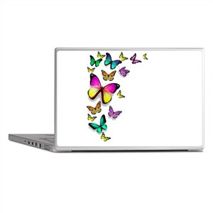 Colorful Butterfly Laptop Skins