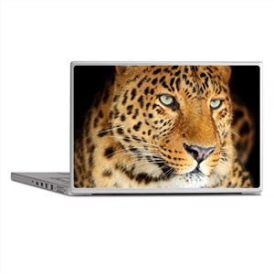 Leopard Portrait Laptop Skins