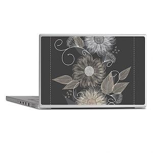 Elegant Floral Laptop Skins