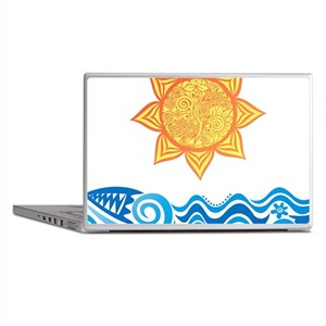 Sun and Sea Laptop Skins