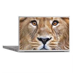 Realistic Lion Painting Laptop Skins