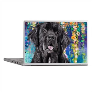 Newfoundland Painting Laptop Skins