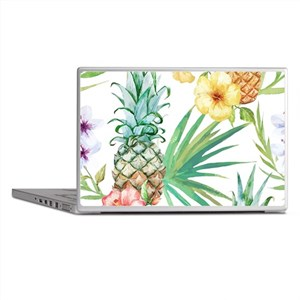 Vintage Flowers Laptop Skins
