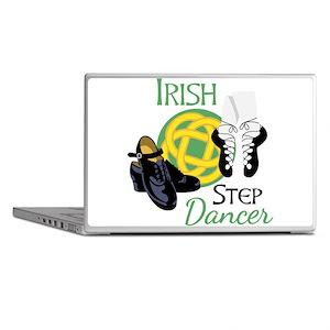 IRISH STEP Dancer Laptop Skins