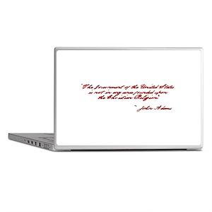 John Adams Quote Laptop Skins