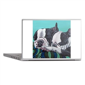 Boston Terrier Laptop Skins