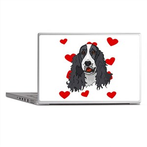 Springer Spaniel Love Laptop Skins